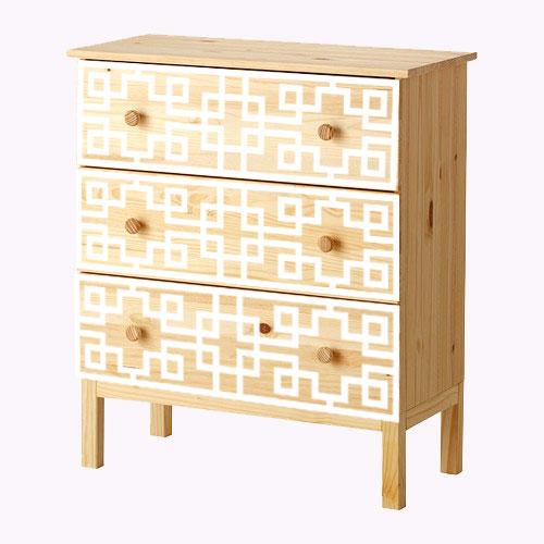 Grace - möbeldekor till Tarva byrå (beställningsvara)