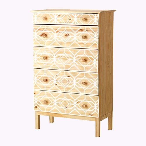 Aleks - möbeldekor till Tarva byrå (flera varianter)
