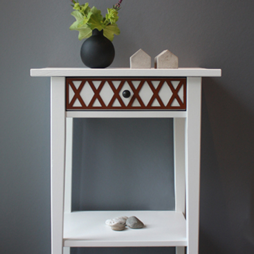Rut - furniture decor for IKEA Hemnes bedside table