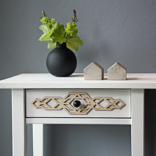 Stina - furniture decor for IKEA Hemnes bedside table