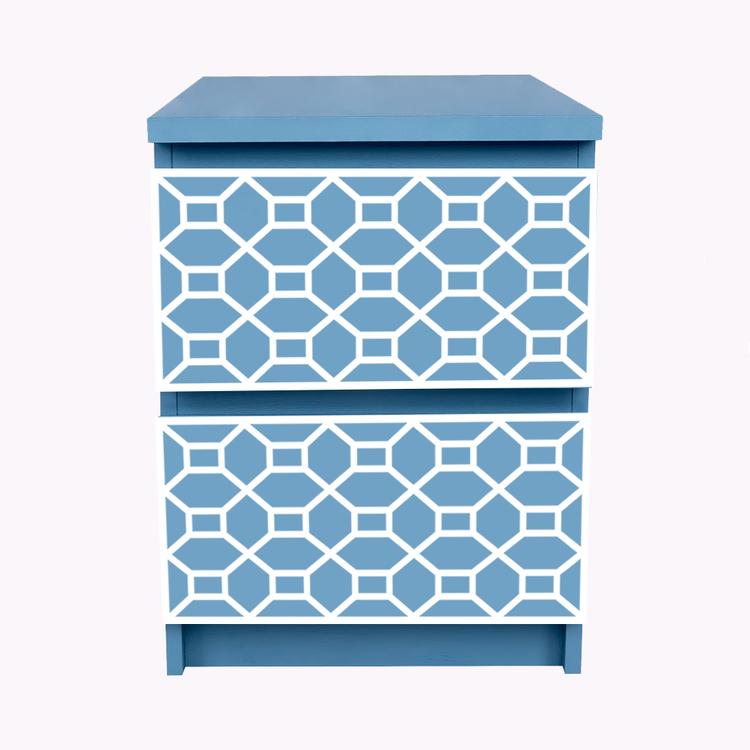 Mattis - möbeldekor till Malm sängbord