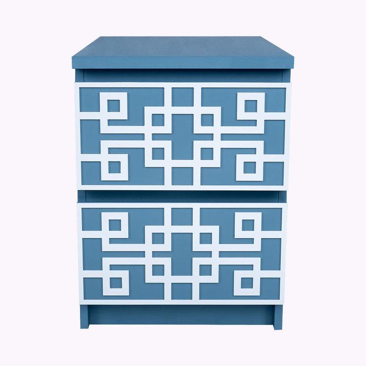 Grace - möbeldekor till Malm sängbord