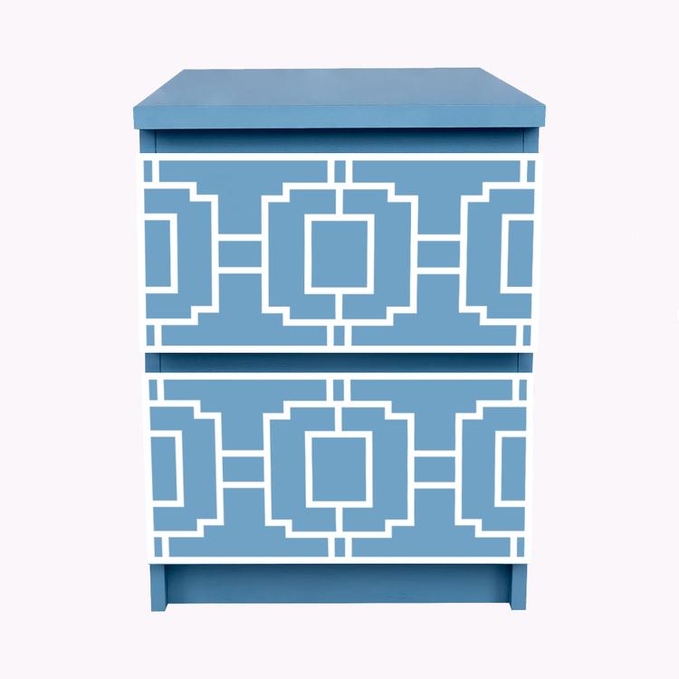 Livia - möbeldekor till Malm sängbord