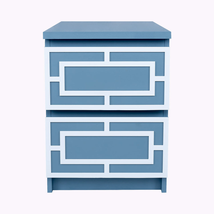 Emil - möbeldekor till Malm sängbord