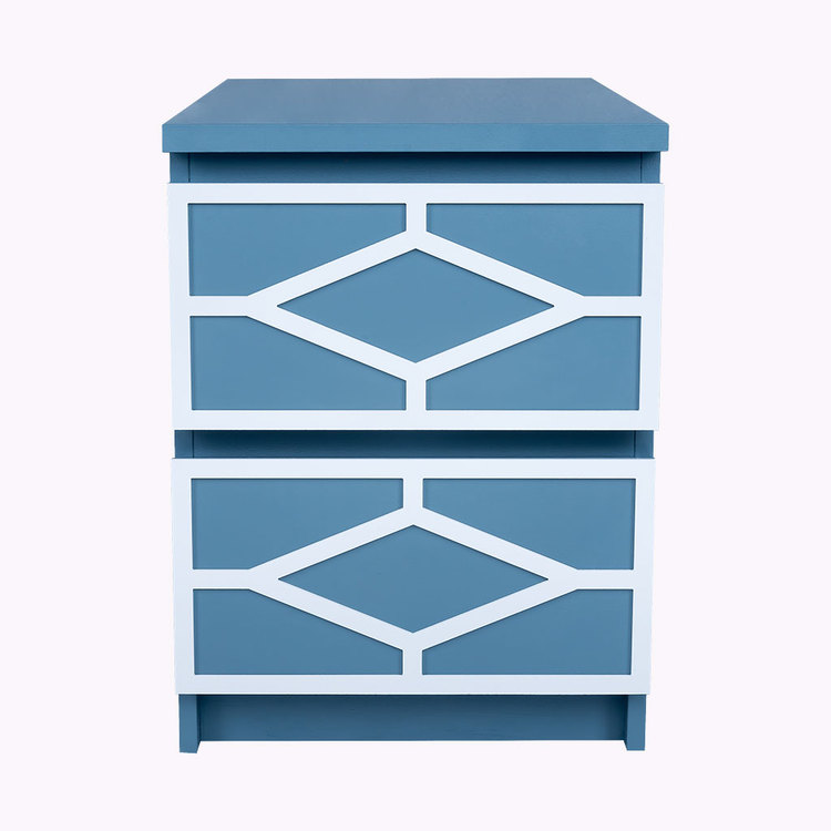 Nahal - furniture decor for IKEA Malm bedside table