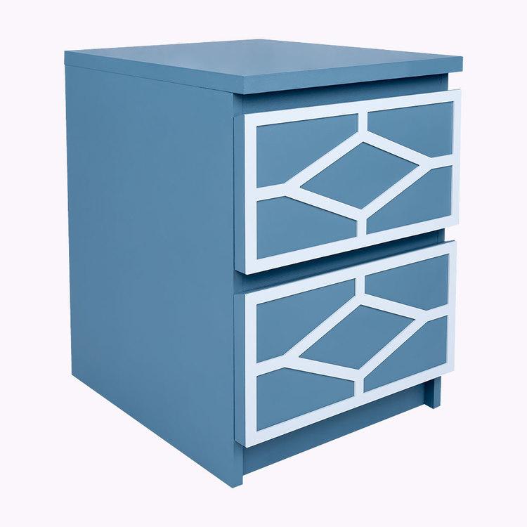 Nahal - möbeldekor till Malm sängbord