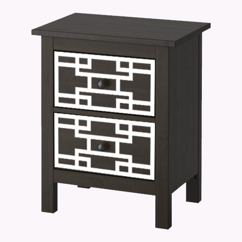 Sara - möbeldekor till Hemnes sängbord