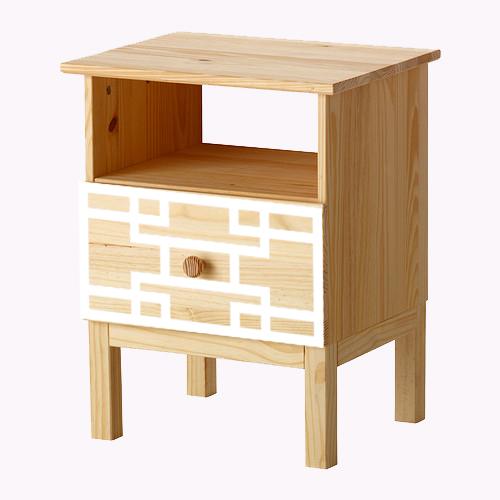 Sara - möbeldekor till Tarva sängbord