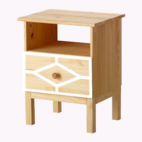 Nahal - möbeldekor till Tarva sängbord