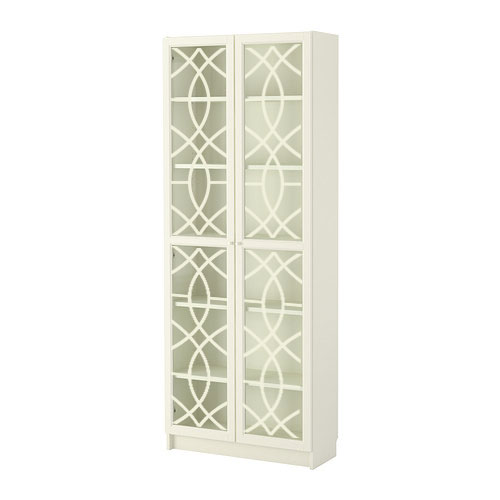 Isak - furniture decor for IKEA Billy bookcase with glass-doors