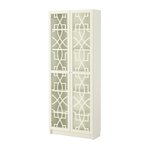 Annica - furniture decor for IKEA Billy bookcase with glass-doors