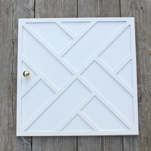 Maja - möbeldekor till Kallax dörr (beställningsvara)