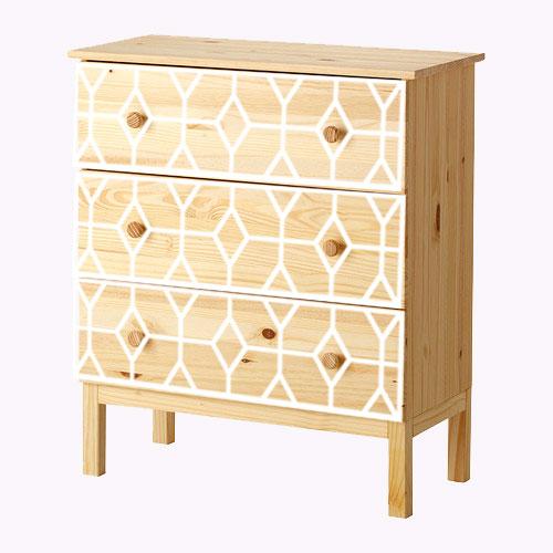 Astrid - möbeldekor till Tarva byrå (beställningsvara)