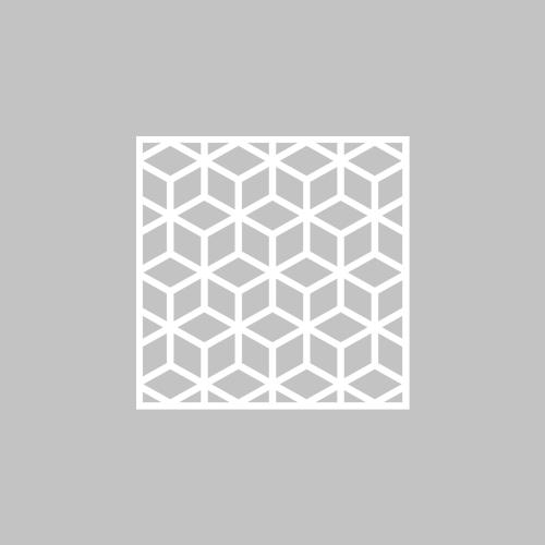 Elli - möbeldekor till Metod skåpdörr 40 x 40 cm (beställningsvara)