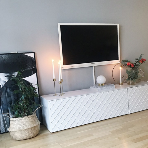 Adele - möbeldekor till Bestå skåpdörr 60 x 38 cm  (beställningsvara)