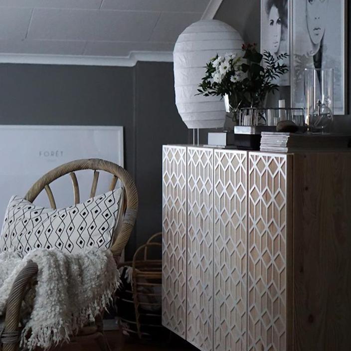 Elli - möbeldekor till Ivar 2 dörrar (beställningsvara)