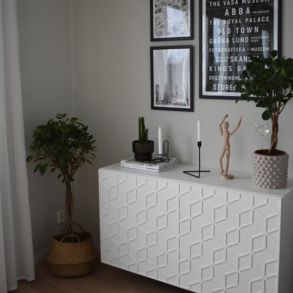 Elli - möbeldekor till Bestå skåpdörr 60 x 64 cm (beställningsvara)