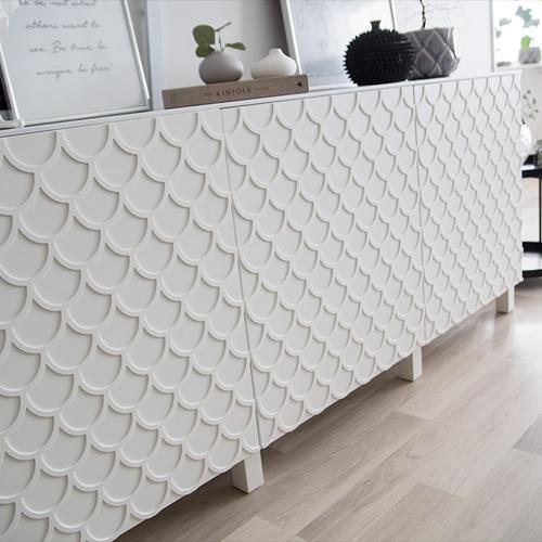 Adele - möbeldekor till Bestå skåpdörr 60 x 64 cm  (beställningsvara)