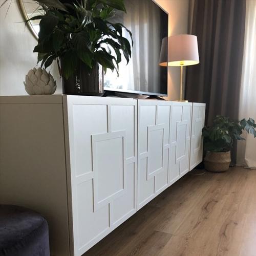 Engla - möbeldekor till Bestå skåpdörr 60 x 64 cm (beställningsvara)