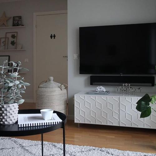 Elli - möbeldekor till Bestå skåpdörr 60 x 38 cm (beställningsvara)