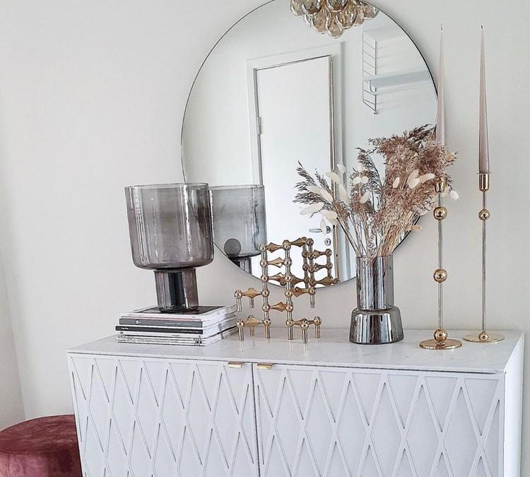 Rut - möbeldekor till Bestå skåpdörr 60 x 64 cm (beställningsvara)