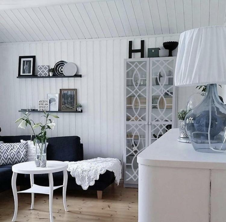 Isak - möbeldekor till Billy vitrinskåp (obs den gamla varianten)