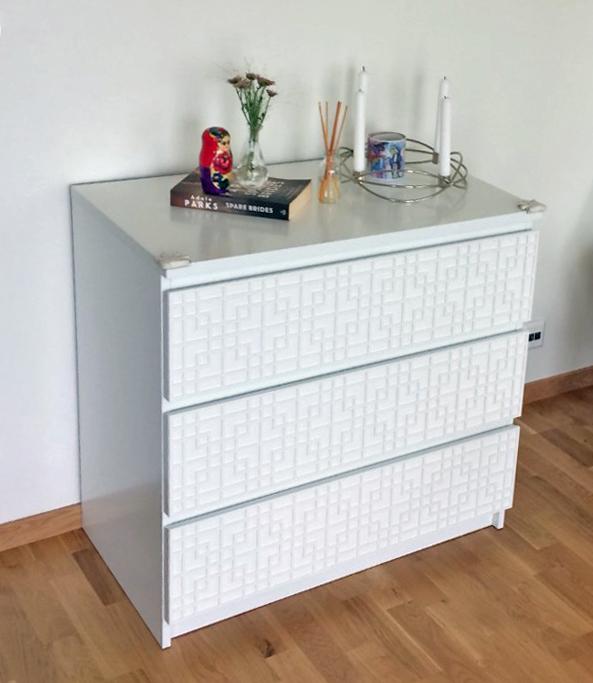 Labbe - möbeldekor till Malm byrå