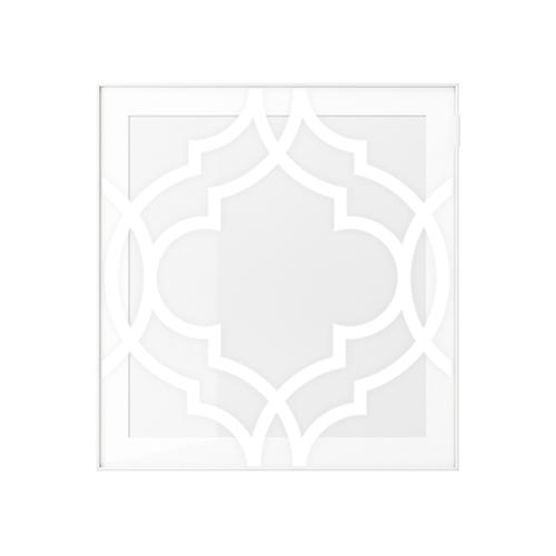 Fia - frontmönster till BESTÅ GLASSVIK Vitrindörr 60x64cm