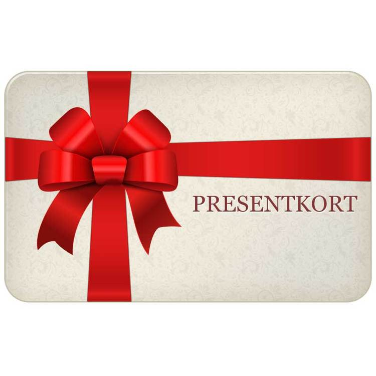 Presentkort Giftcard 250 SEK från Catwalk Jewellery