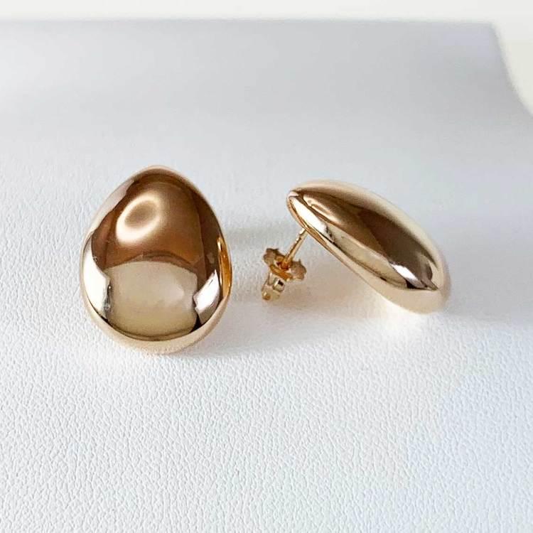Örhängen [Droppe] i 925 roséförgyllt silver