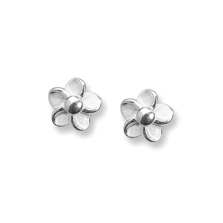 Örhängen [FLOWER] i 925 silver