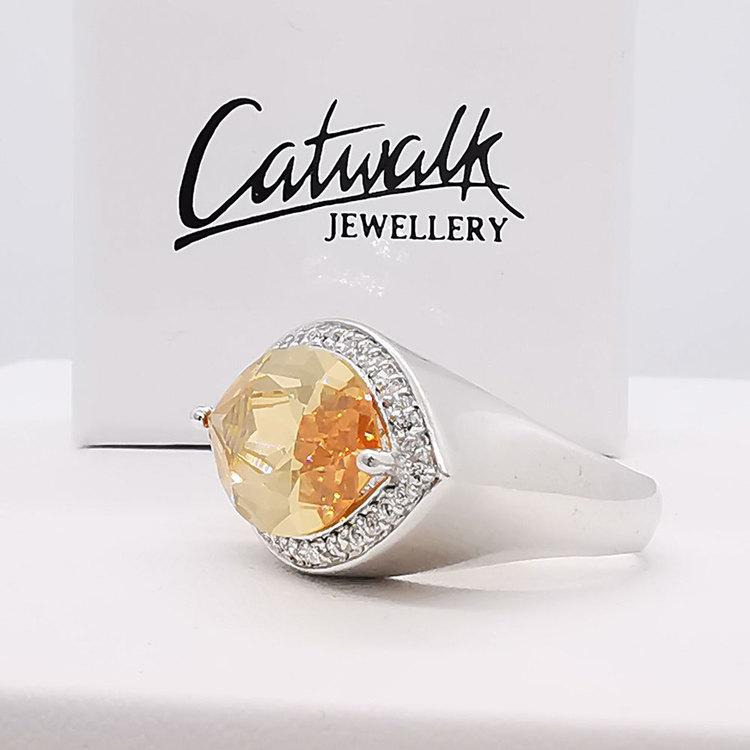 cool ring CHAMPAGNE från Catwalk Jewellery