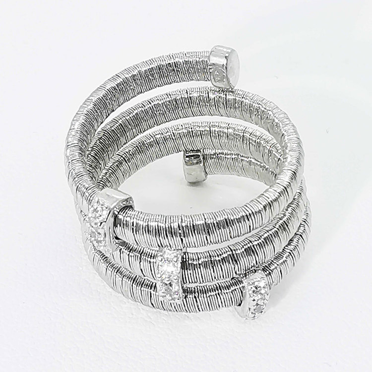 Ring Aurora Silver