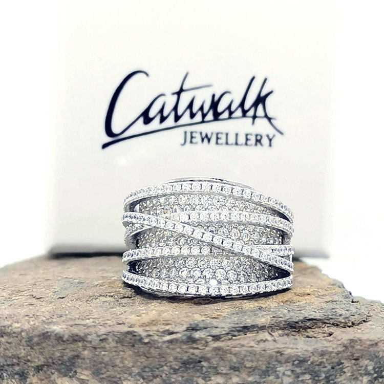 Ring Corrine Sparkling Silver
