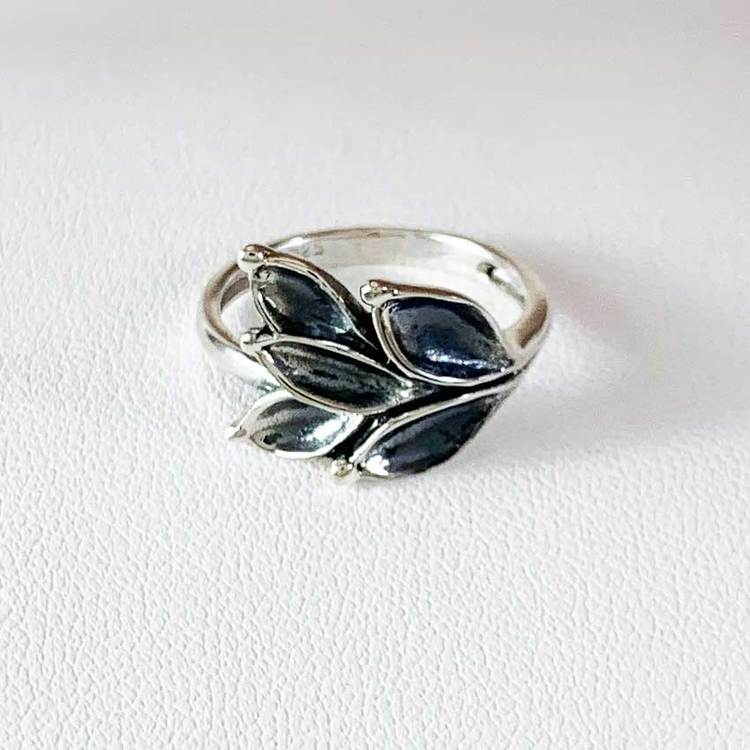 Ring Aleea Oxidized Silver