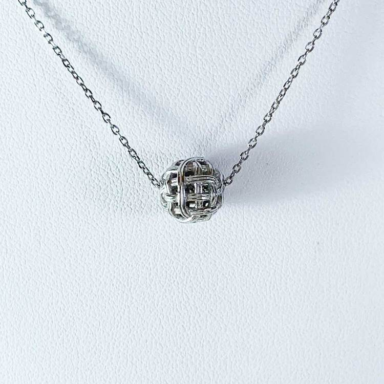 Halsband [BALL] i 925 silver