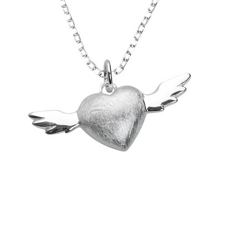 Halsband [HEART] i 925 silver