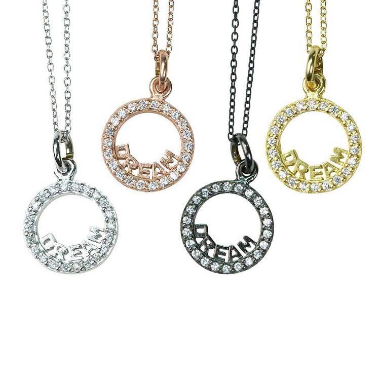 snyggt halsband i silver dream från Catwalk Jewellery