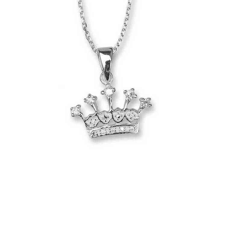 Halsband [CROWN] i 925 silver