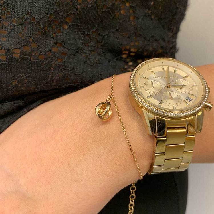 Armband Crown Förgyllt Silver