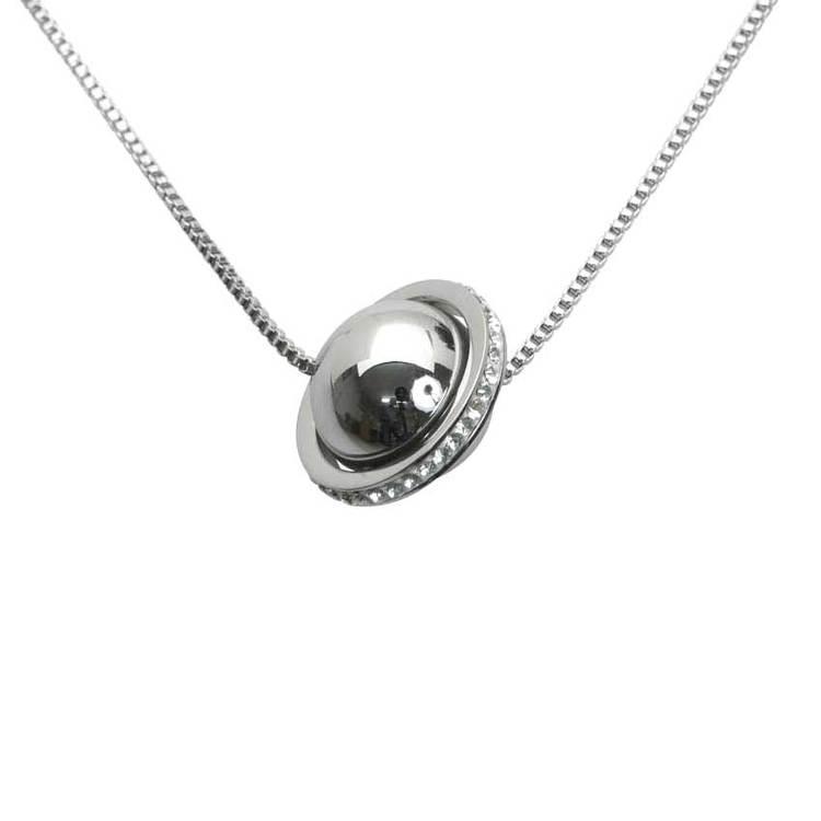Halsband Saturnus i steel