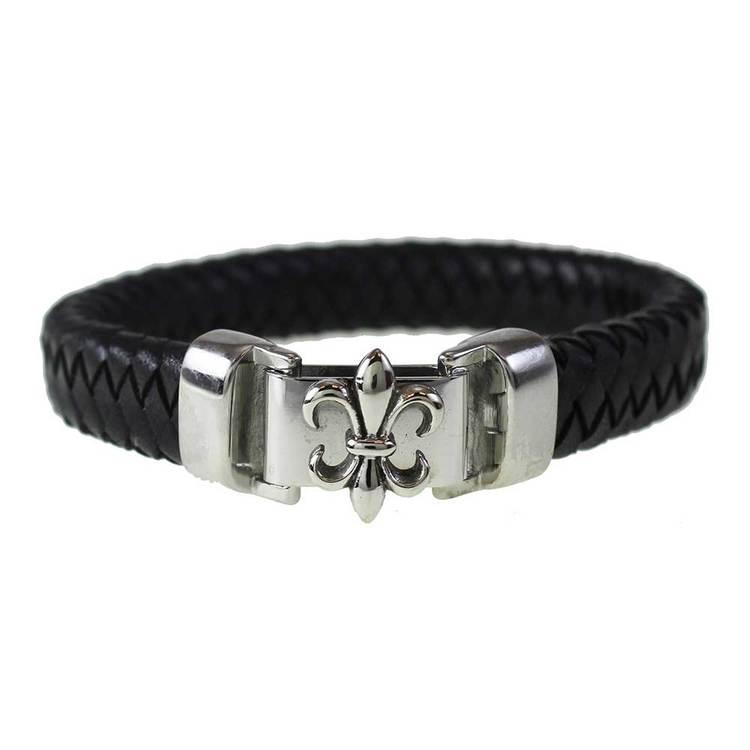 Armband [FLEUR DE LIS] i steel