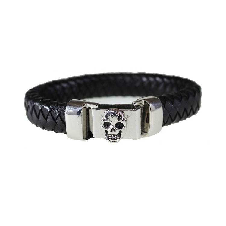Armband [SKULL] i steel