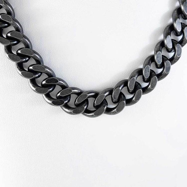 Halsband Pansar antic oxide steel - 13 mm