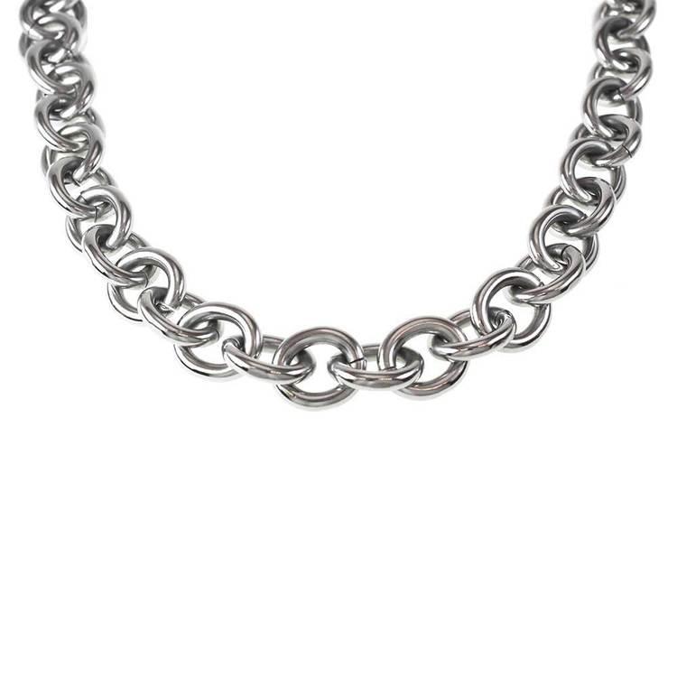 Halsband i steel - 45 cm
