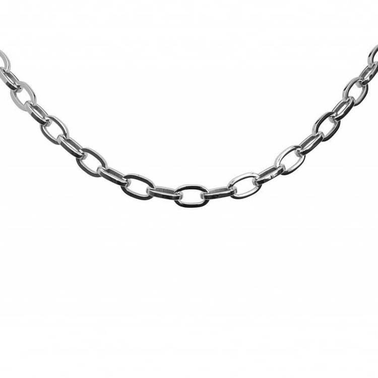 Halsband i steel - 55 cm