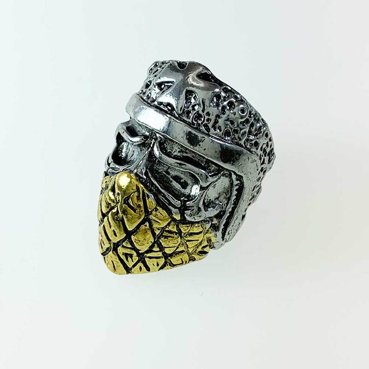 Ring [BIKER] i Steel