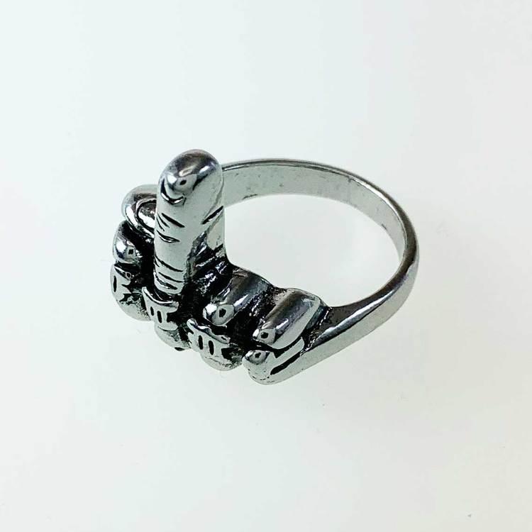 Ring [MIDDLE FINGER] i Steel