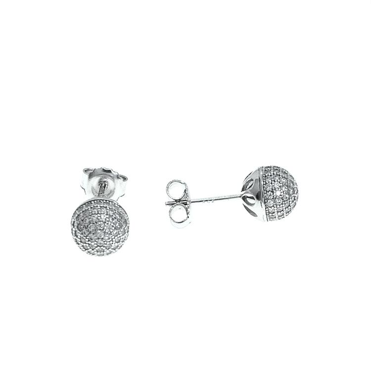 Örhängen Sparkling Ball Silver