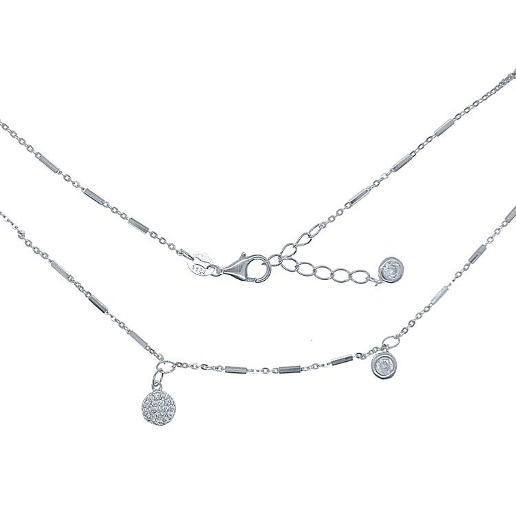 Halsband Sparkling Silver